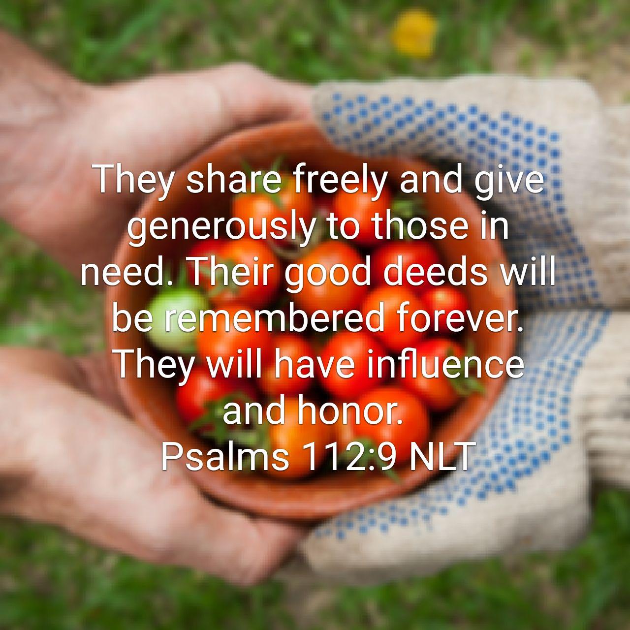 The True Spirit of Generosity is a Lifestyle